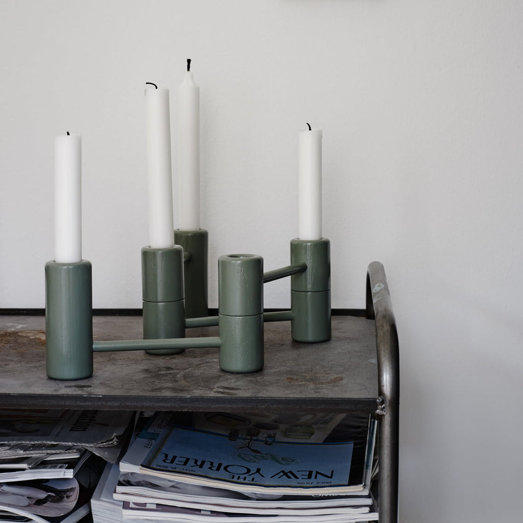 Segments candle holder
