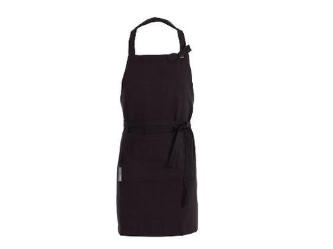 Herringbone Apron black