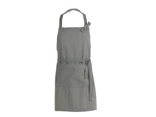 Herringbone Apron grey