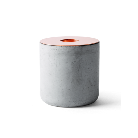 Chunk candle - Concrete