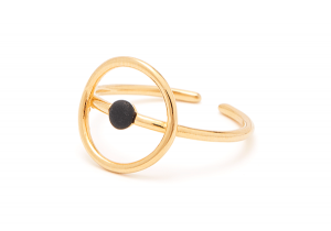 Microdot ring - single dot