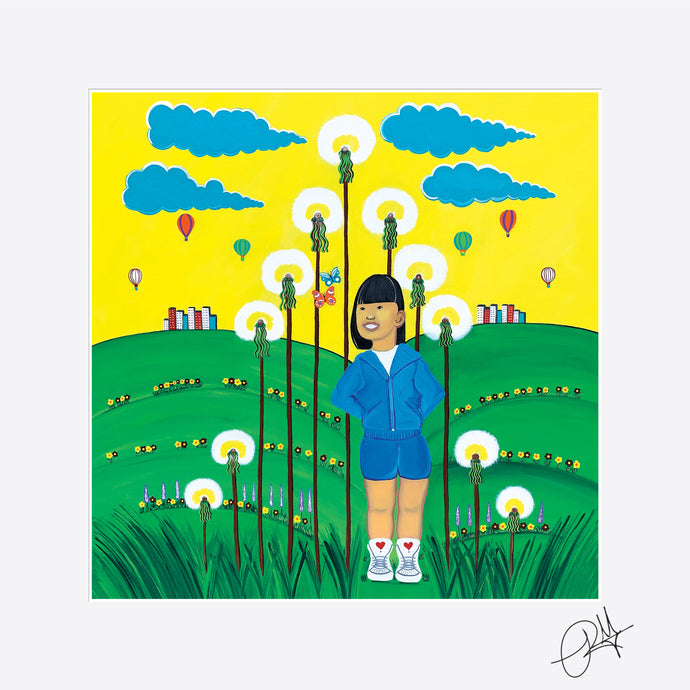 Field of Joy - Mini Print