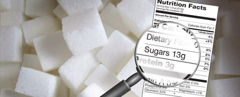 Sugar is a common ingredient in most sports nutrition products