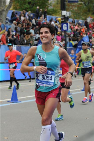 Allie Burdick at NYC Marathon 2015