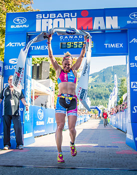 Bree Wee, Winner of Ironman Canada