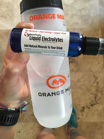 Adding clean, natural electrolytes to your water bottle is easy