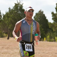 Triathlete and Big Pistachio Team Director, Eli Cohen