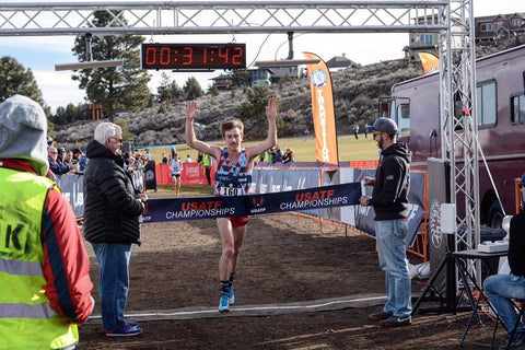 Craig Lutz wins Cross Country Championships