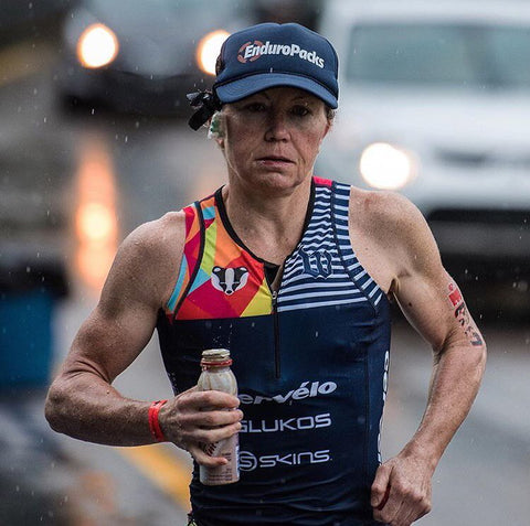 Mary Beth Ellis On Her Way To Her 11th Career Ironman Victory at IM Maastricht
