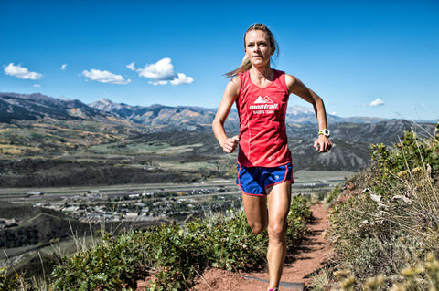 World Mountain Running competitor Megan Lizotte has incorporated liquid electrolytes into her daily routine