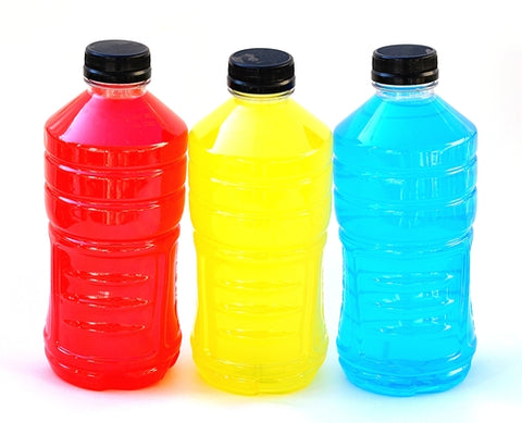Food coloring, sugar, and artificial ingredients are only some of the harmful additives in sports drinks