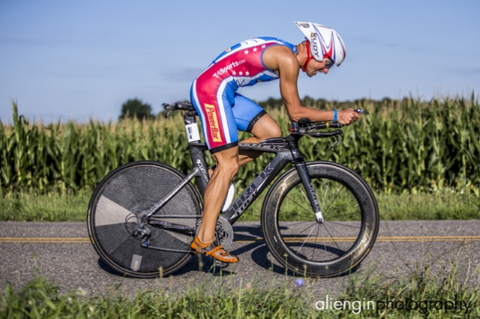 Pro triathlete Thomas Gerlach, EnduroPacks athlete