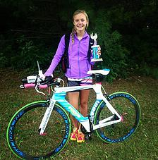 Anna Peterson of Fusion Cycles team, uses EnduroPacks for her training nutrition needs