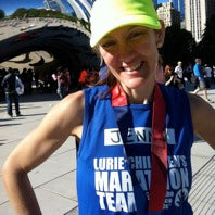 Marathon Runner and Fitness Consultant, Jenn Voss