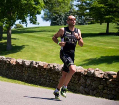 Ultra triathlete, Nick Logan