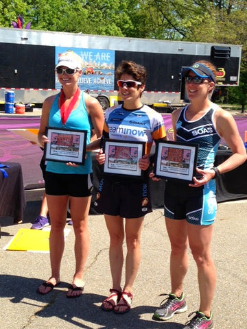 Ambassdor and Mother of 4, Sara Randolph Finishes on Podium at Seahorse Challenge