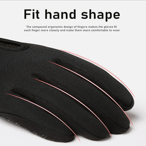New Touch Screen Windproof Outdoor Sport Gloves For Men Women Army Guantes Tacticos Luva Winter Warm Waterproof Gloves 3FS