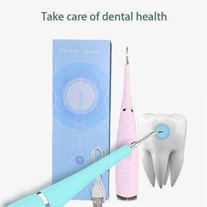 USB Recharge Vibration Sonic Dental Scaler Tooth Calculus Remover Tooth Stains Tartar Cleaner Tool Whiten Teeth Dropshipping