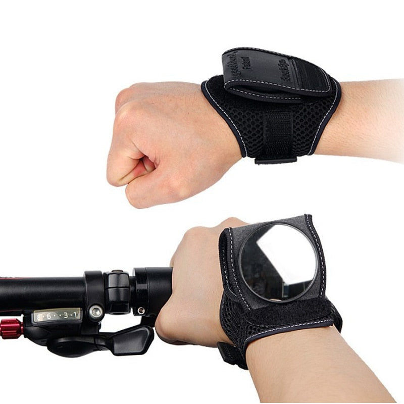 Bicycle Mirrors Bicycle Wrist Mirror Rearview Wristband Motorbike Handlebar Reflector Wristband Mirror Riding Equipment