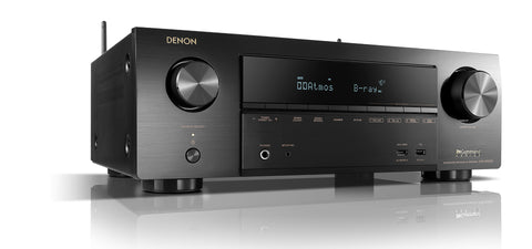 Denon AVR-X1500H 7.2 Ch. AV Receiver with Amazon Alexa Voice Control