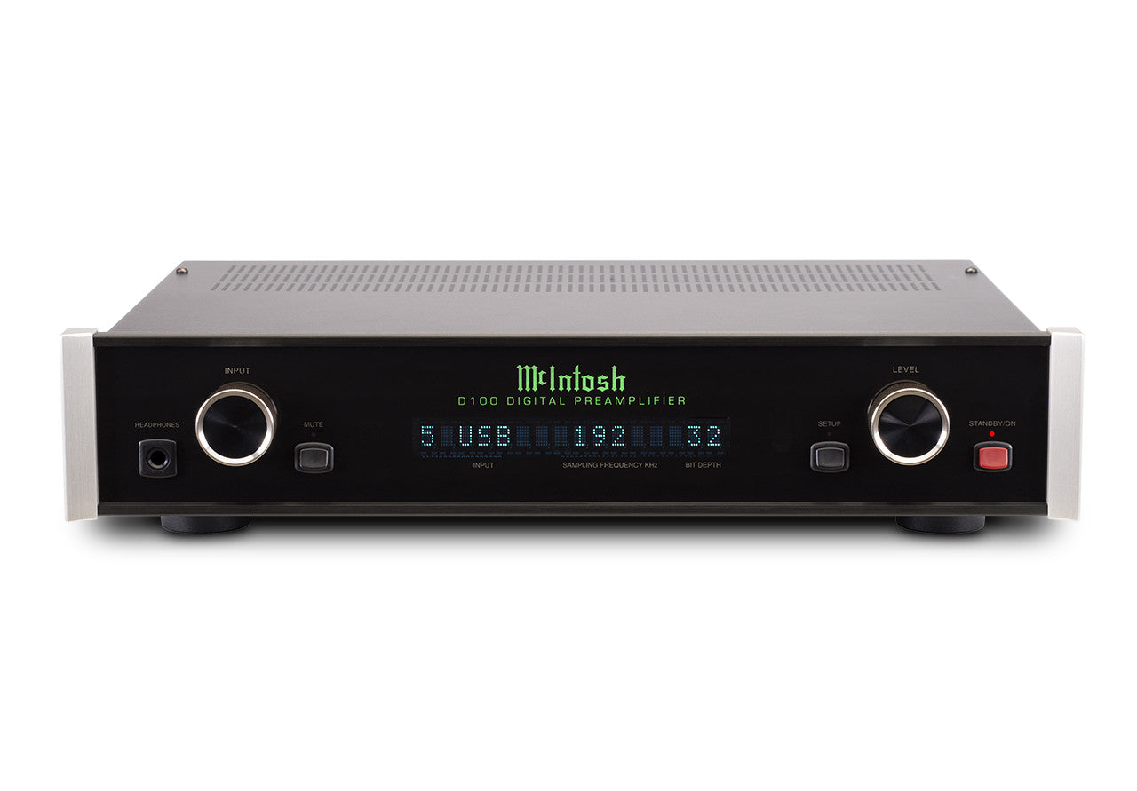 McIntosh D150 2-Channel Digital Preamplifier