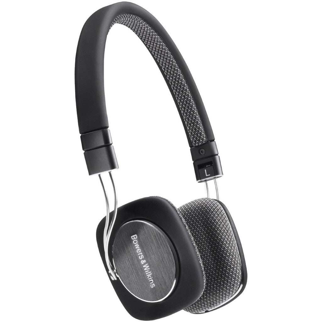 Bowers and Wilkins P3 Over-the-ear Headphones Black