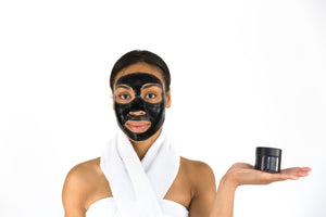 Black Activated & Bentonite Face Mask (4 oz)