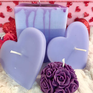 Purple Rain 4 piece candle drip