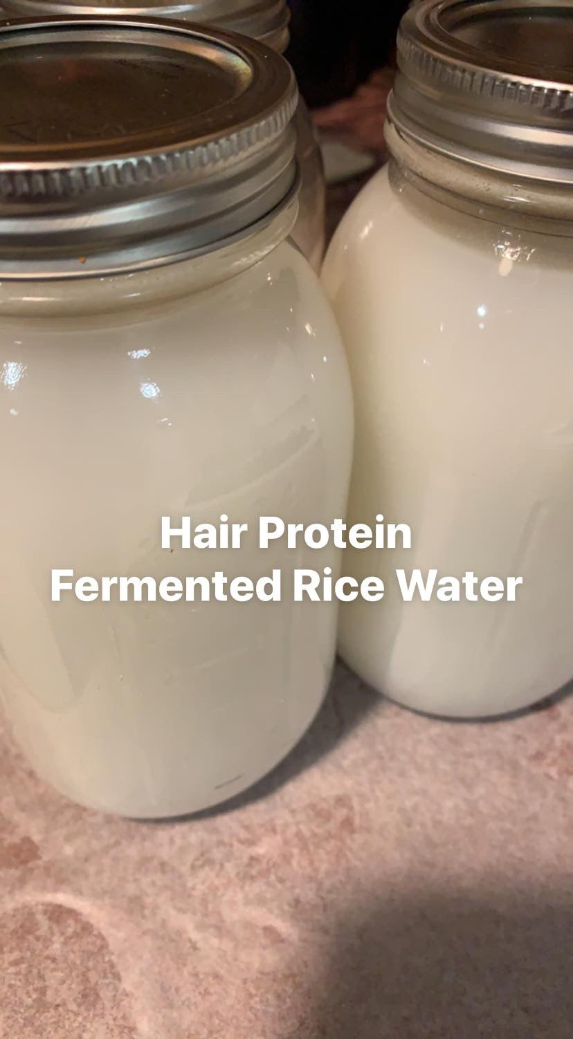 Fermented Rice Water