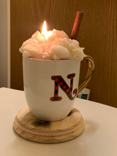 Load image into Gallery viewer, Hot Cocoa Topped w/ Whip Cream Candle
