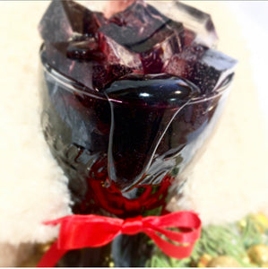 Raspberry Coke-Cola Candle Beverage