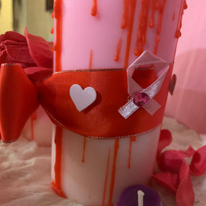 Drip Of Love candle sets of 2