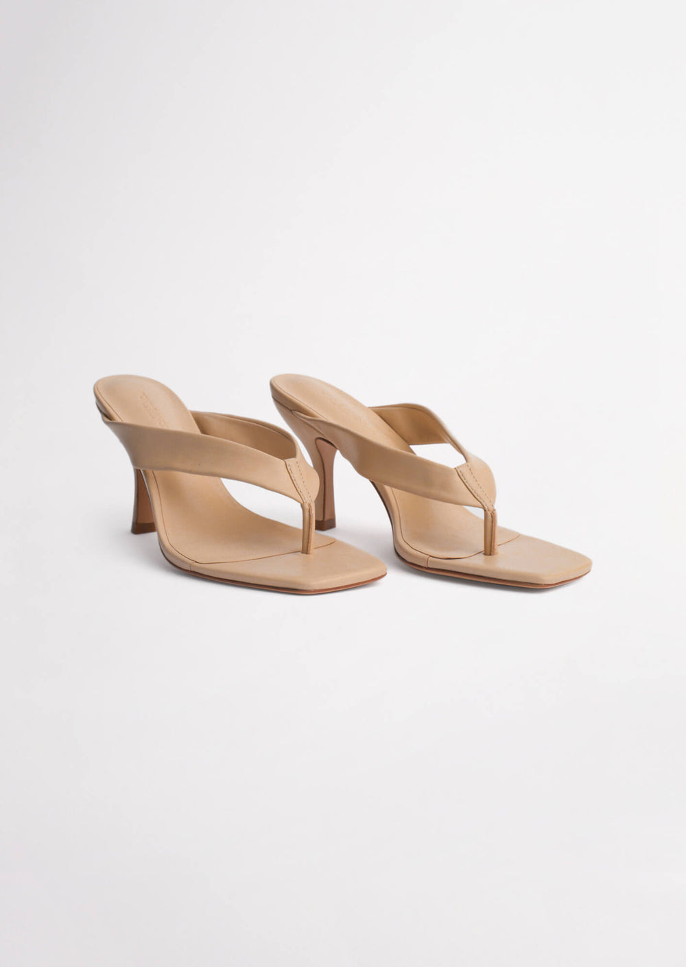 Bellah Beech Sheep Nappa Heels