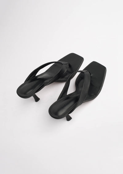 Bellah Black Sheep Nappa Heels