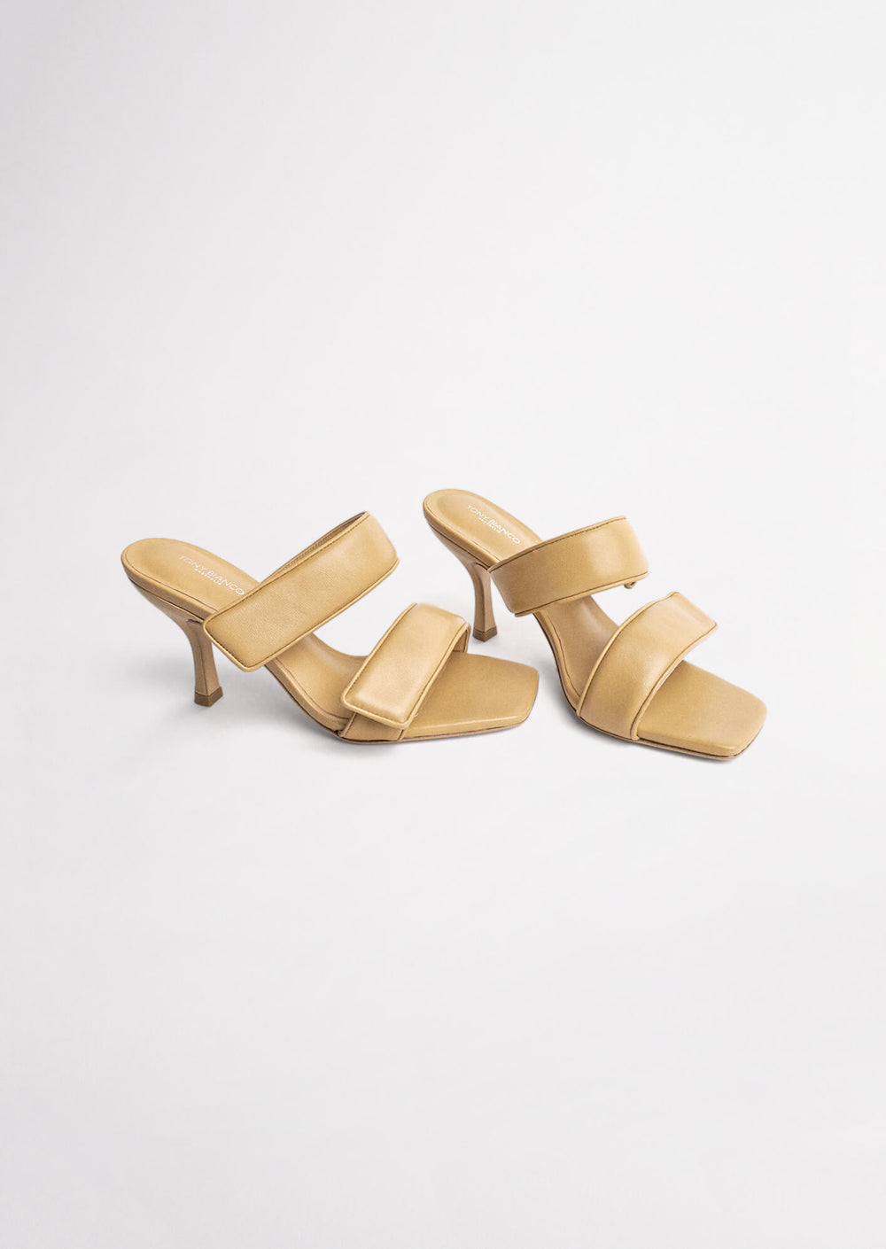 Bounty Honey Sheep Nappa Heels