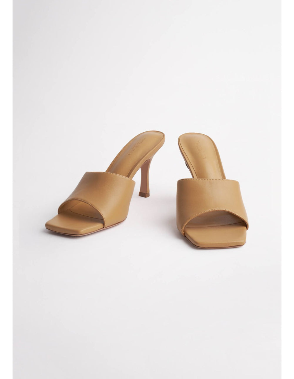 Clara Honey Sheep Nappa Heels