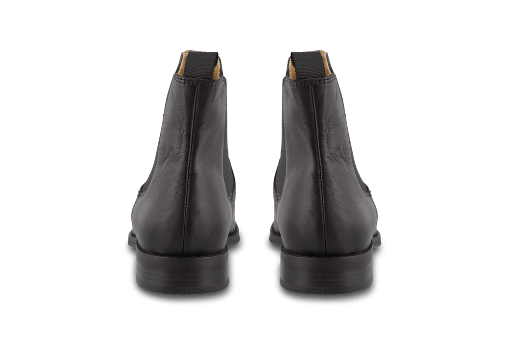 Collins Black Jetta Polish Ankle Boots