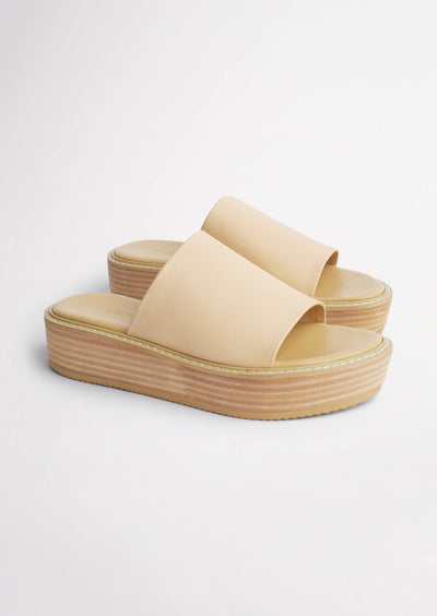 Erin Beech Sheep Nappa Sandals