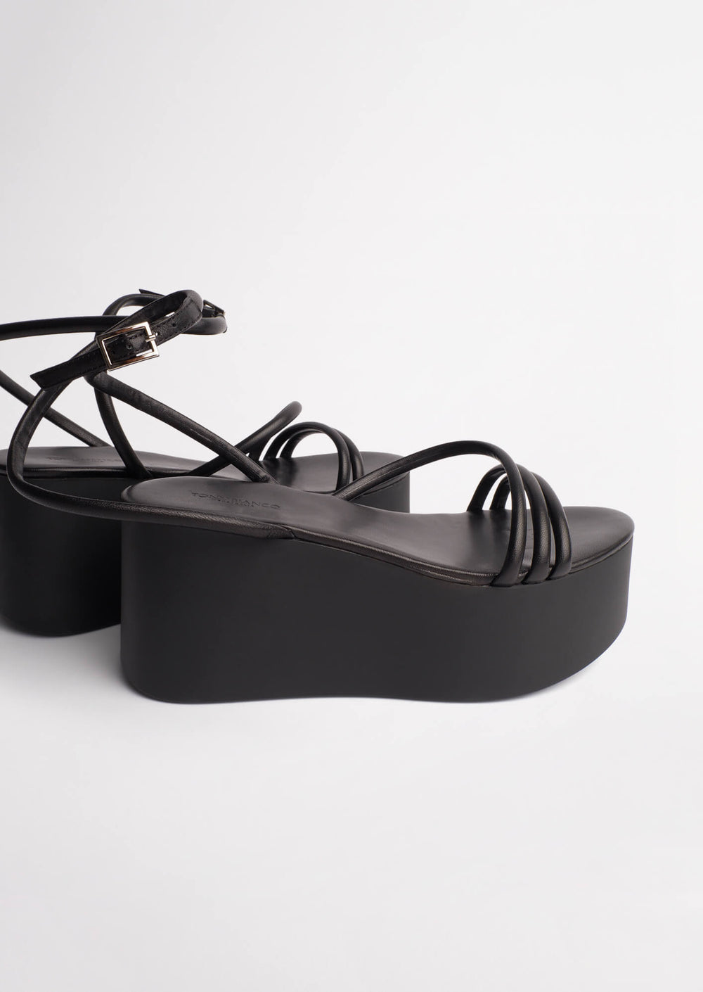 Tory Black Sheep Nappa Wedges