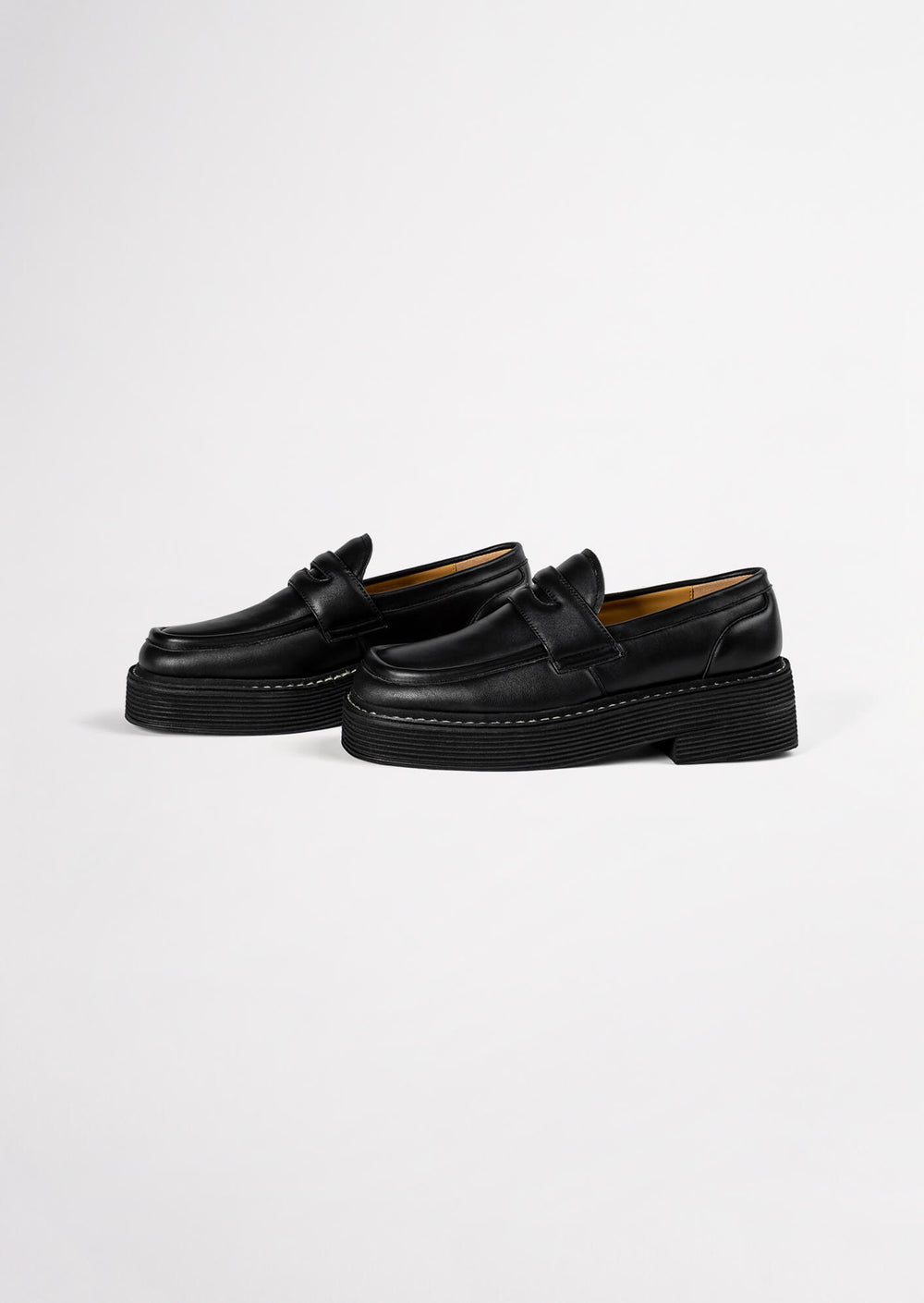 Granite Black Nappa Casual Shoes