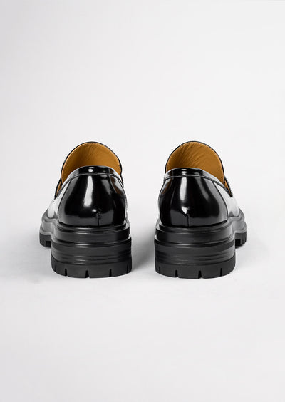 Wiz Black Hi Shine Casual Shoes