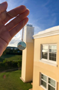 Bermuda Roof Necklace