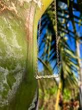 Load image into Gallery viewer, Bermuda Script Necklace