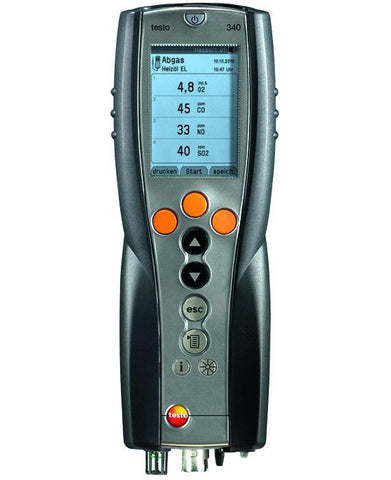 Testo 340 Combustion Analyzer - Highmark Analytics