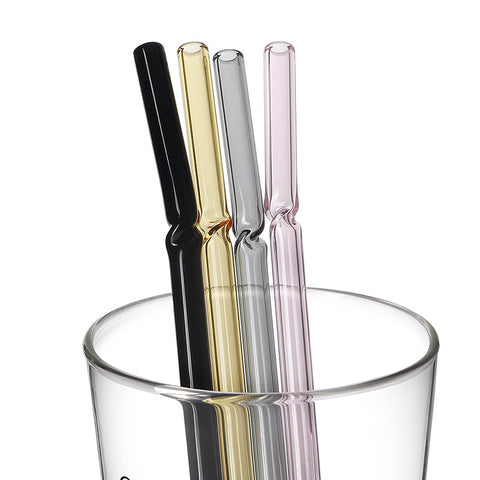 Twisting Glam Glass Straws