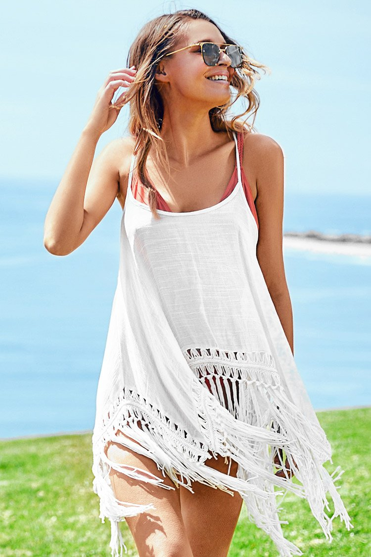 Brise de Golfe Cover Up Blanc