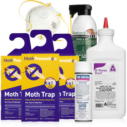 Carpet Moth Killer Kits