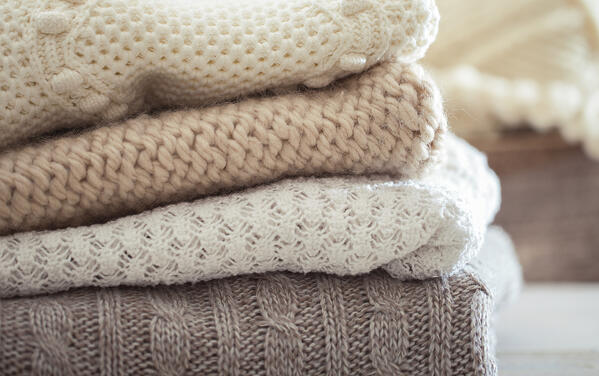caring for a cashmere sweater