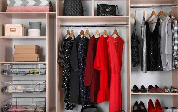 manage your fall closet