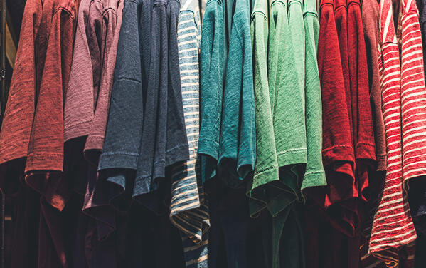 color coding fall clothes